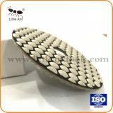 """4""""/100 мм сухой шлифовки блока полимера алмазов абразивного инструмента для мрамора и гранита"""