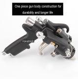 Double gicleur/principal duel/deux composants/pistolet de pulvérisation argenté de chrome PT-30