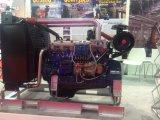 발전기에 사용되는 터보로 충전된 간 냉각된 디젤 엔진