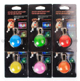 OEM 최신 판매 플라스틱 다채로운 LED 개 펜던트