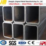 Aislante de tubo de acero del cuadrado común del carbón Ss400 para el edificio de la estructura