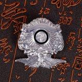 Distintivo d'argento personalizzato dell'ala dell'aquila
