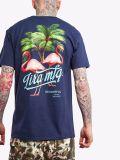 ハイエンド品質の涼しいロゴの男女兼用の綿のTシャツ