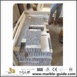 壁、床タイルおよびカウンタートップのための中国の白鳥の白い花こう岩