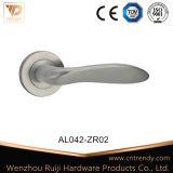 L'aluminium Salle de bains Matériel Zamak Poignée du levier du loquet de porte (AL136-ZR05)