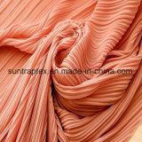 Anilha ondulada programável de alta qualidade /Ruga Chiffon vestido de malha