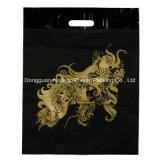 Dongguan 주문 로고 디자인은 생물 분해성 LDPE를 정지한다 커트 비닐 봉투를 인쇄했다