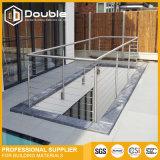 Pêche à la traîne de balcon d'acier inoxydable de support de mur de balustrade d'acier inoxydable