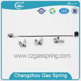 Mola de gás ajustável com sistemas da liberação da alavanca