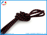 Tirer la corde faite sur commande de cordon avec la bande élastique pour des chaussures de vêtement