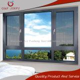 Diebstahlsicheres Aluminiumflügelfenster-Multifunktionsfenster mit Insekt-Bildschirm