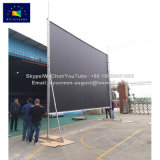 Xyscreen 300 인치 휴대용 빠른 Foldable 스크린 대와 비행 케이스를 가진 큰 영사기 스크린