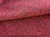 Tessuto lavorato a maglia lane false di Hw1566 100%Poly