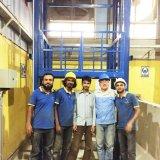 piattaforma di sollevamento idraulica del carico di 2m