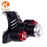 고성능 LED Headlamp 야영 Headlamp가 방수 LED에 의하여 점화한다