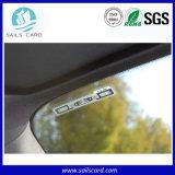 Autocollant de pare-brise tag RFID UHF pour la gestion des véhicules