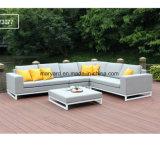 El sofá al aire libre de Foshan fijó para el patio