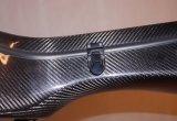 Caja dura Cfg14 de la mejor del carbón de la marca de fábrica de China Aiersi guitarra de la fibra de vidrio