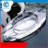 Cinzeiro de vidro de cristal personalizado para decoração de hotel