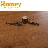 Le bois un revêtement de sol en vinyle PVC de planches de gaufrage Tile