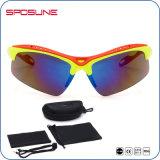 UV400 Schlagbiegefestigkeit-Sonnenbrillen der Katze-3 hohe mit kundenspezifischem Firmenzeichen