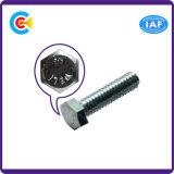 Aço de carbono de DIN/ANSI/BS/JIS/parafuso principal cilíndrico Stainless-Steel do hexágono para a estrada de ferro do edifício/carro