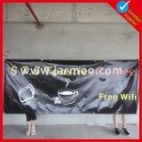 Bandiere esterne del vinile del PVC della rete fissa di doppia stampa dei lati