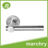 Handvat van de Deur Mandelli van het Roestvrij staal van de Hardware van de deur het Stevige