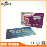 Scheda di plastica di promozione del regalo e del biglietto da visita stampata costo poco costoso, consegna veloce