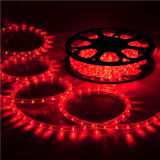 세륨 11mm 높은 광도 LED 밧줄 빛 빨간불 220V 밧줄 빛