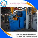 Máquina de descascamento do fio do desperdício do descascador de fios do cabo da sucata