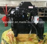 Moteur diesel 4BTA3.9-C125 de Dcec Dongfeng Cummins pour le projet d'Engneering d'industrie du bâtiment