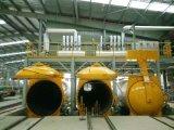 Vers le haut de l'ouverture de la brique d'Autoclave AAC bloc usine de fabrication de machines pour la brique