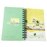 Espiral Softcover Notebook Estudantes Papelaria Livro de exercícios de impressão