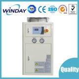 O ar refrigerou o refrigerador de 5 toneladas do condensador azul da aleta