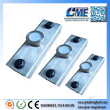 Imán Shuttering del concreto prefabricado del imán Gme-600 del acero inoxidable