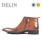 Les hommes de mode Double respirant moine des bottes en cuir pour hommes