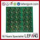 PWB Multilayer da placa de circuito de Enig para a chave remota do carro do IR