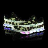 USB перезаряжаемые СИД светя вскользь ботинкам