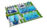 Lilytoys Wasser-Park-Geräten-Handelsthema-aufblasbares Wasser-Park-Projekt für Verkauf