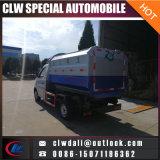 Carro de basura directo del cargamento de la cara de fuente de la fábrica, carro de elevación hidráulico de la colección de basura