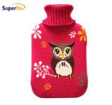 La Norma BS de alta calidad del Caucho Natural bolsa de agua caliente /Botella con tapa