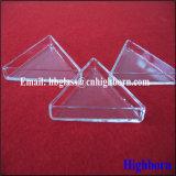 Contenitore triangolare libero del petalo di vetro di quarzo del fornitore