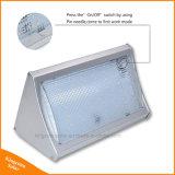 800lm helle Solarmikrowellen-Radar-Bewegungs-Fühler-Energien-Lampe des licht-56 LED für im Freiengarten-Straßen-Wand mit Fernsteuerungs