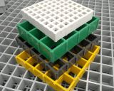 섬유유리 FRP 섬유에 의하여 강화되는 플라스틱 GRP 격자판