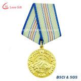 Médaille faite sur commande en gros de blanc en métal de métier d'usine
