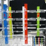 Organizador branco acrílico plástico feito sob encomenda das lentes de contato