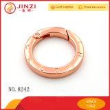 Anello all'ingrosso della molla del metallo di alta qualità della fabbrica, giunto circolare aperto di innesco, anello della clip
