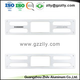 Het zilver Aangepaste AudioVoorpaneel van het Aluminium/Correcte Comité/Shell/Bijlage