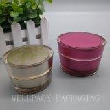 Vaso crema acrilico 15g 30g 50g della bottiglia di vendita calda